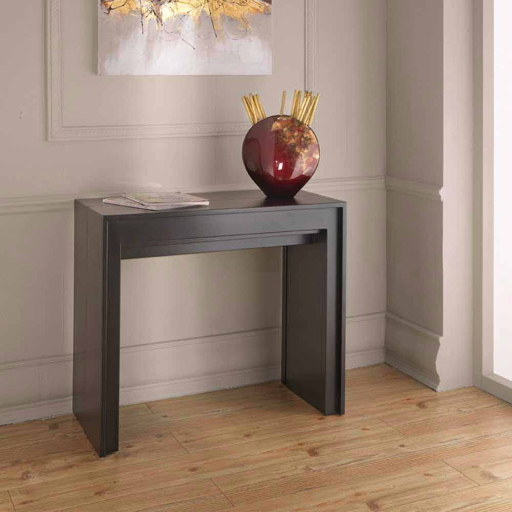 Extendable console table dining table lie modern design - Console table a manger ...