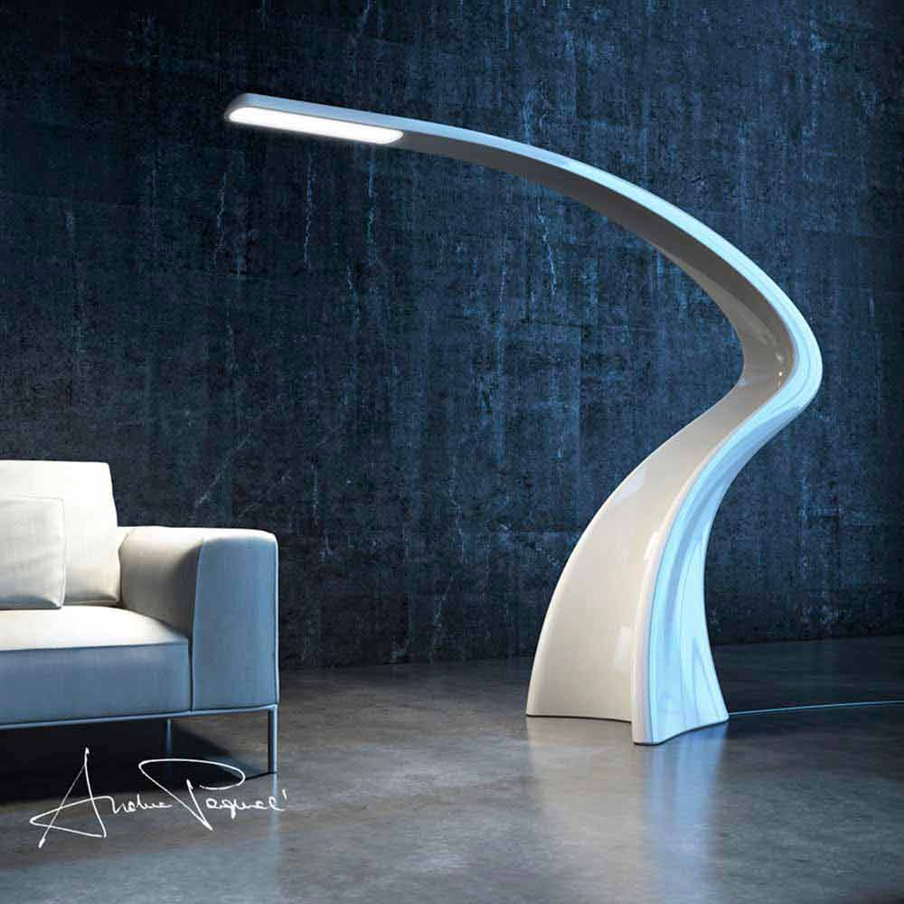 modern design adamantx floor lamp lumia made in italy. Black Bedroom Furniture Sets. Home Design Ideas