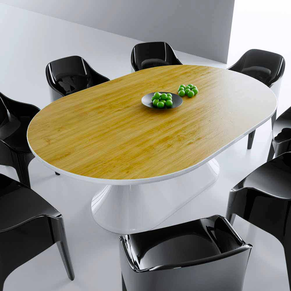 Modern Design Dining Table Lunch Table Made In Italy