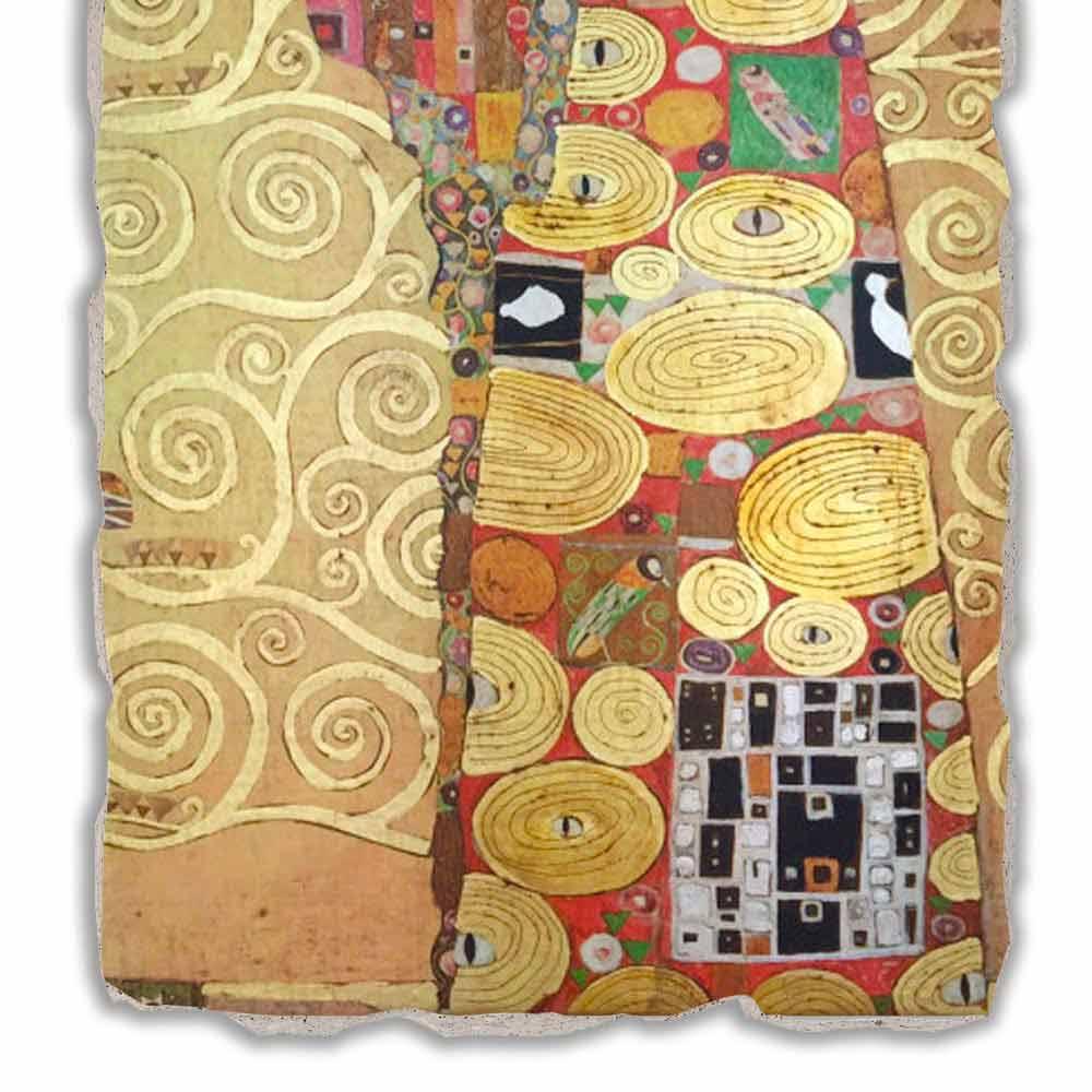 Fulfillment The Embrace By Gustav Klimt Big Size