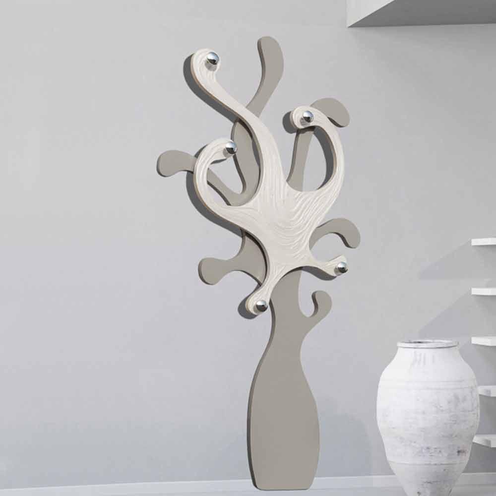Wall coat rack corey modern design for Appendiabiti parete