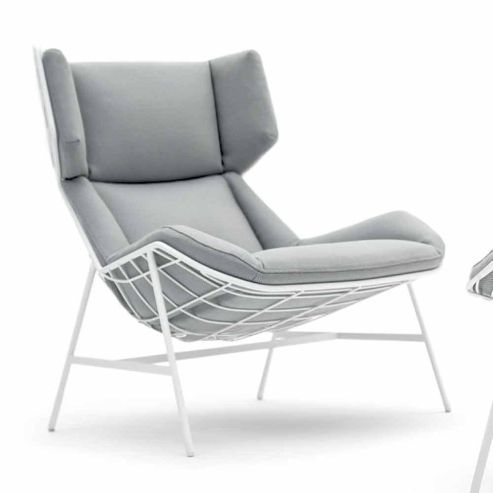 Poltrone Bergere Moderne.Modern Design Bergere Garden Armchair By Varaschin Summer Set