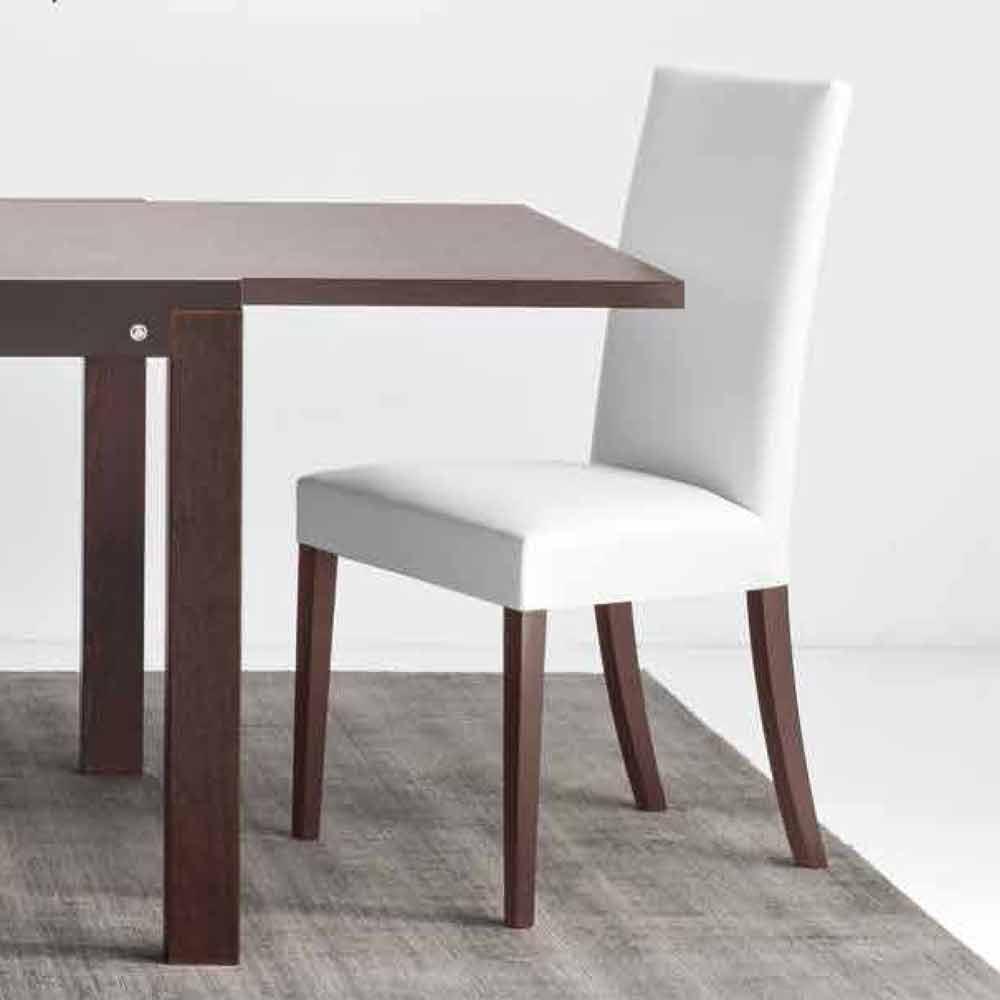 Einzigartig Connubia Calligaris Galerie Von Copenhagen Chair In Eco-leather And Wood, 2