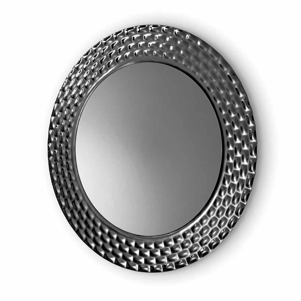 Fiam vebl n pasha modern design round wall mirror made in Modern round mirror