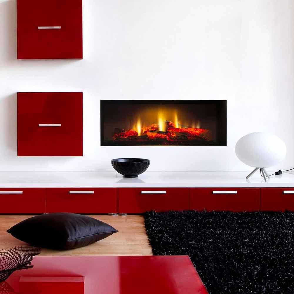 Electric Fireplace Insert High definiton Screen Edimburgh Single