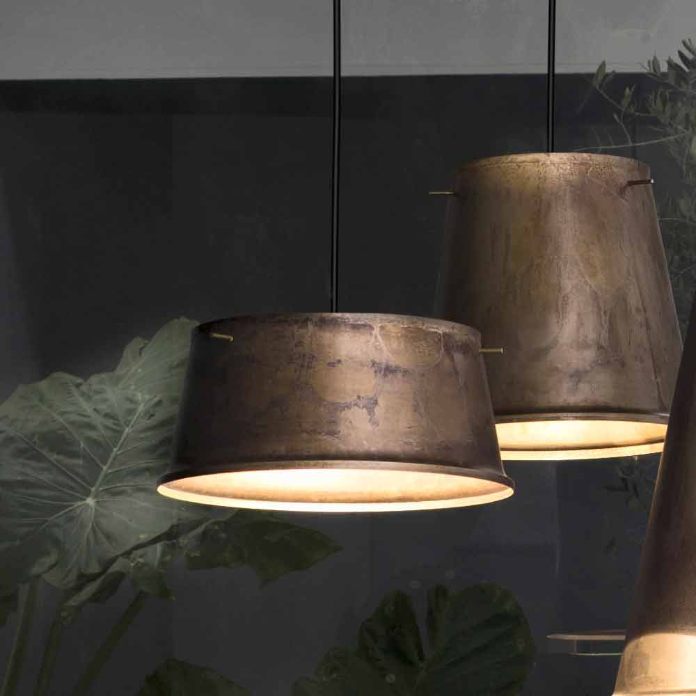 Rustic Iron Made In Italy Pendant Light Khonus Il Fanale