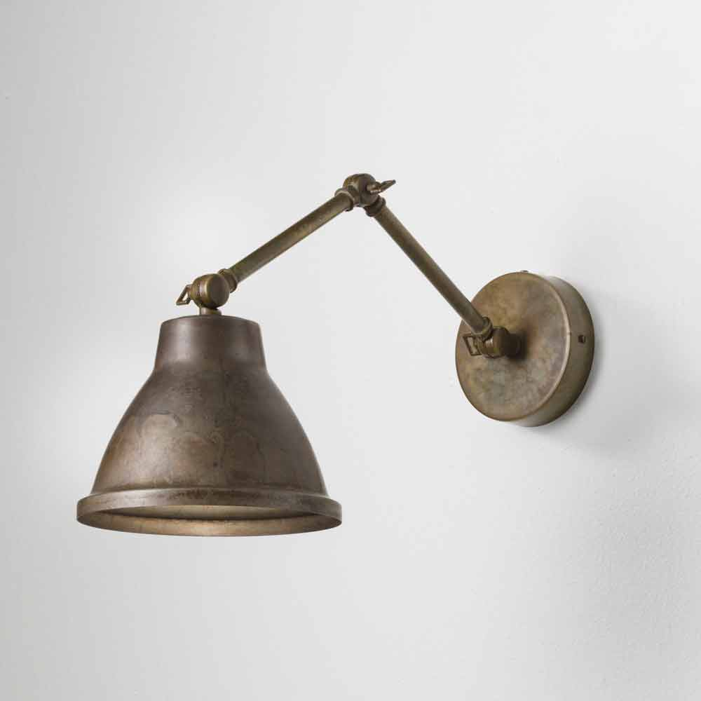 Vintage Industrial Wall Lamps : Vintage industrial wall sconce made of iron Loft Il Fanale