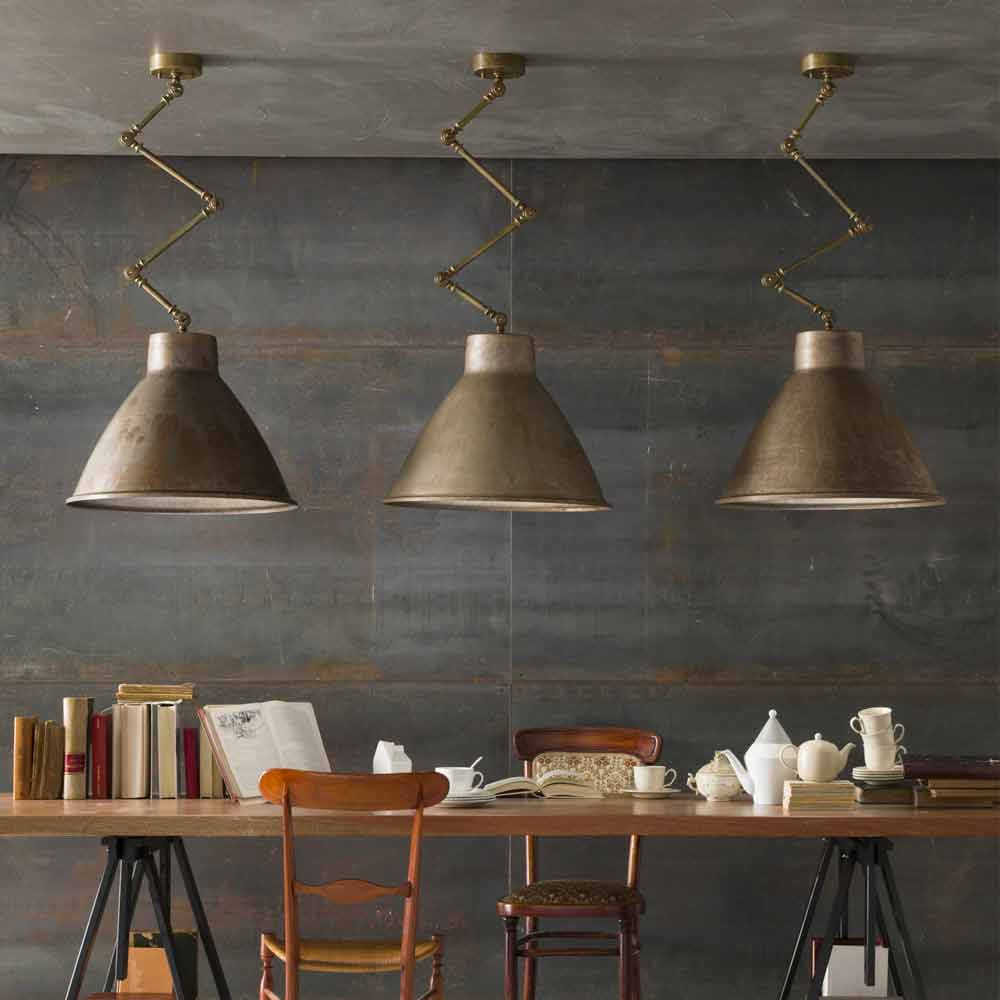 Industrial Design Pendant Light Loft Big Il Fanale