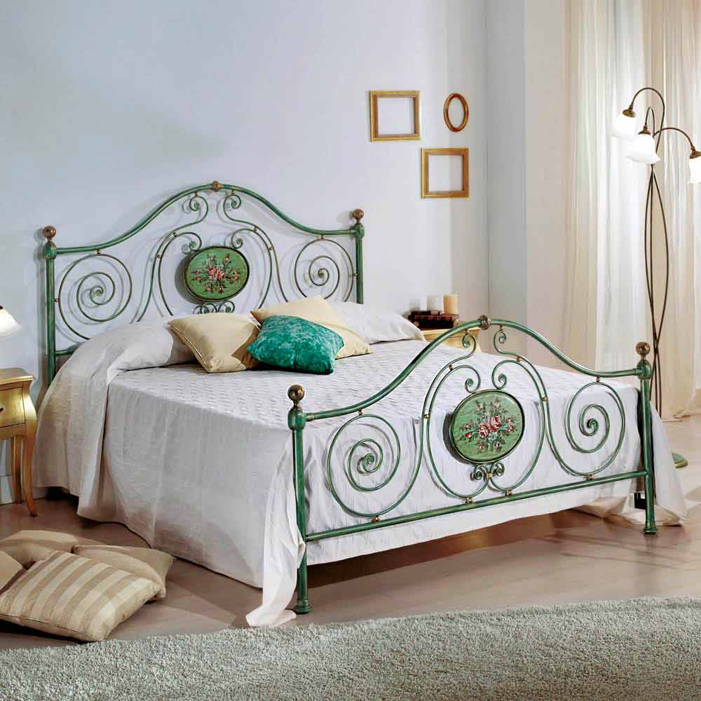 Italian Wrought Iron Double Bed Rachael Classic Design