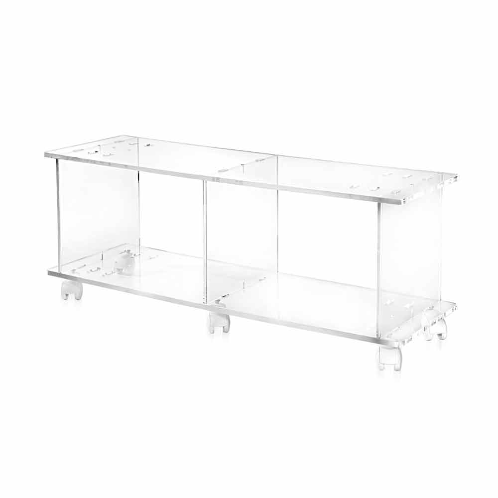 Porta Tv Plexiglass.Modern Design Tv Stand Made Of Transparent Plexiglass Mago