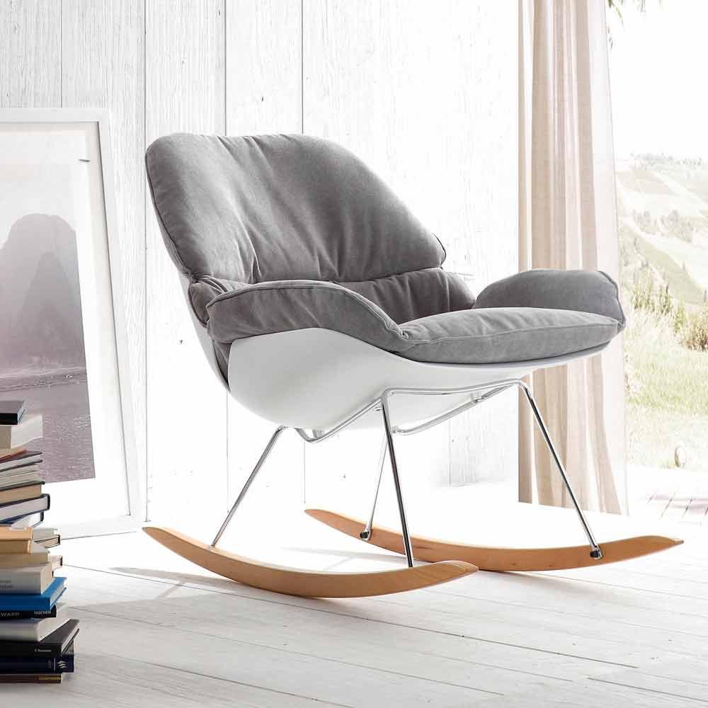 Rocking Chair Acacia Modern Design