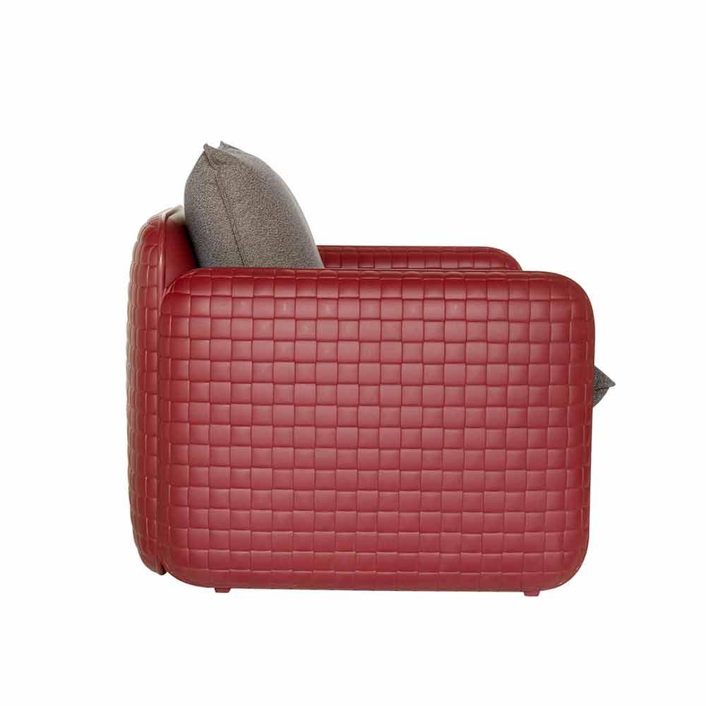 Cuscini Da Esterno Impermeabili lounge outdoor chair with waterproof pillows – mara slide