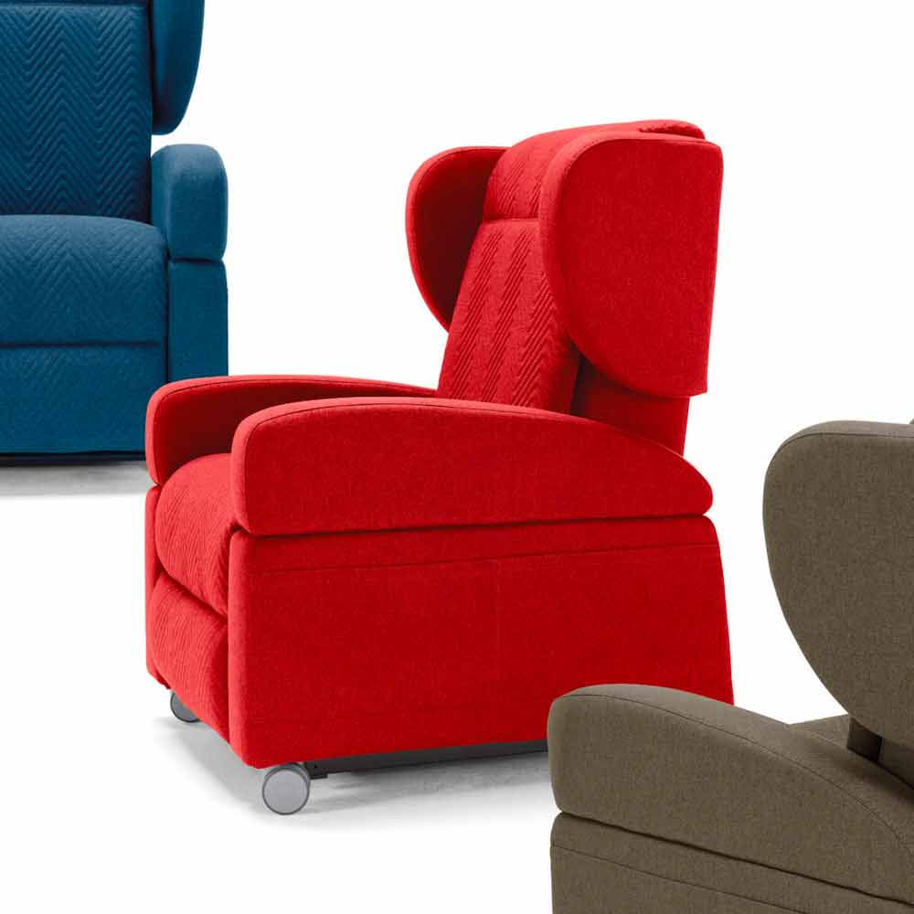 Orthopaedic relax armchair 4 motors made in Italy Giglio ...
