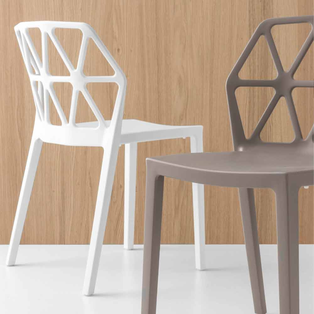 Sedia Alchemia Calligaris.Connubia Chair By Calligaris Alchemia In Polypropylene Made In Italy