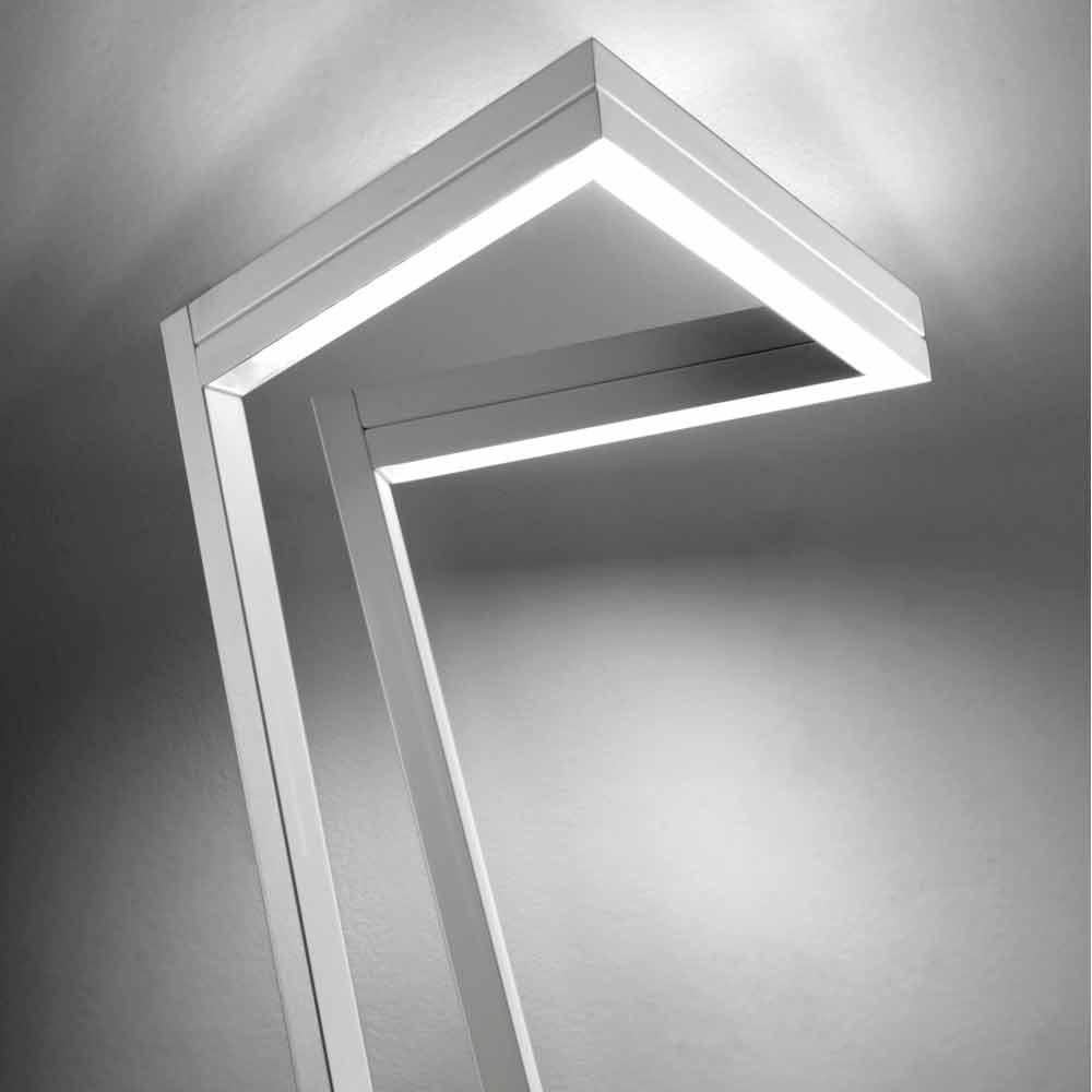 Selene My Way White Led Floor Lamp 40x40 H180 Cm Made In Italy