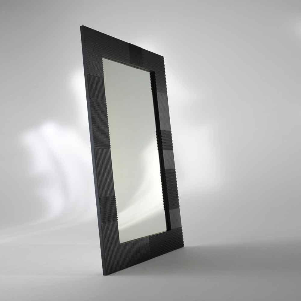 Rectangular free standing mirror thalia modern design - Specchio da terra economico ...