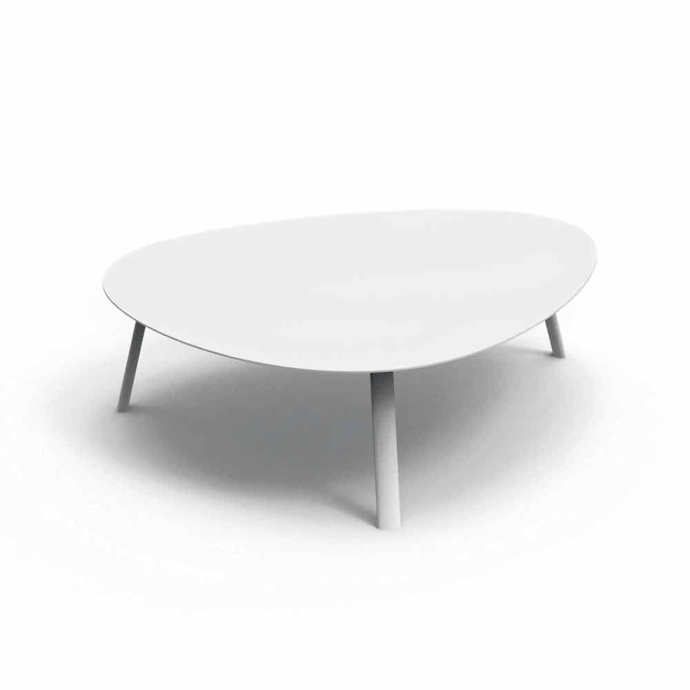 Talenti milo aluminum garden table h30cm made in italy