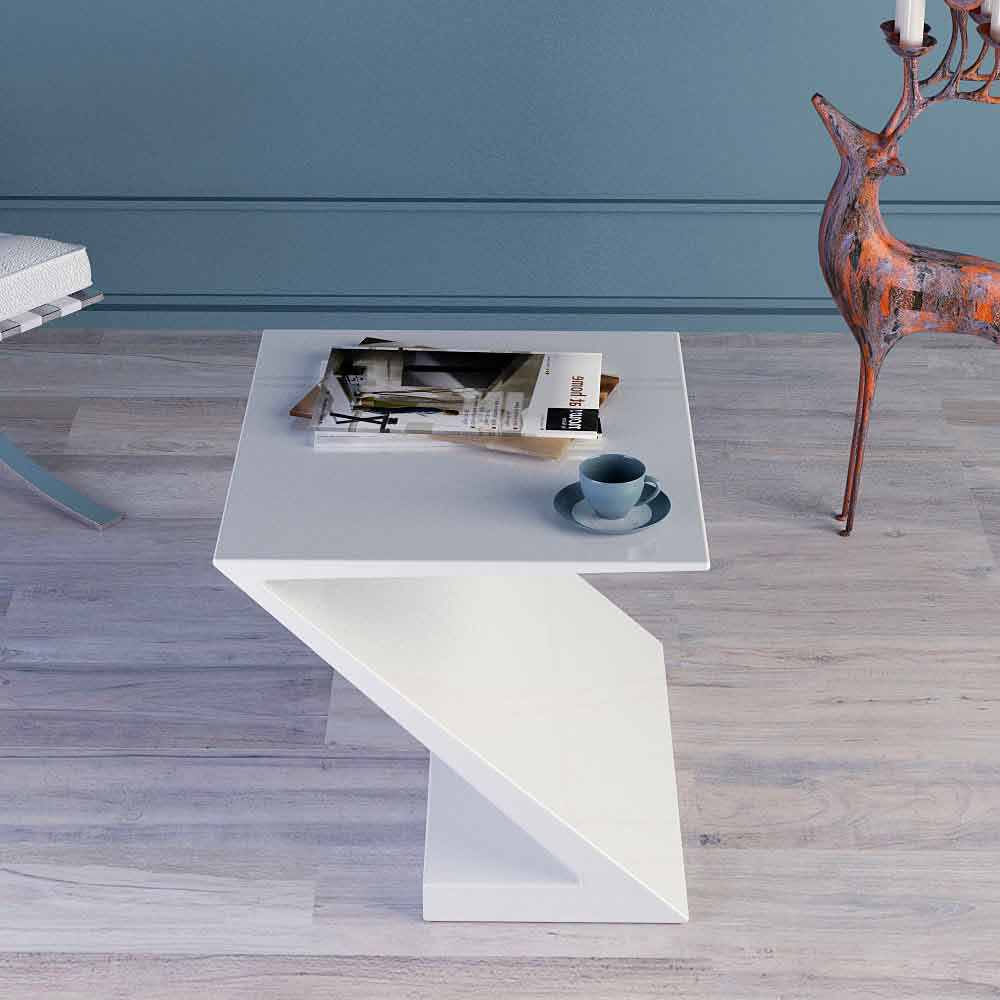 made in italy white coffee table modern design zeta