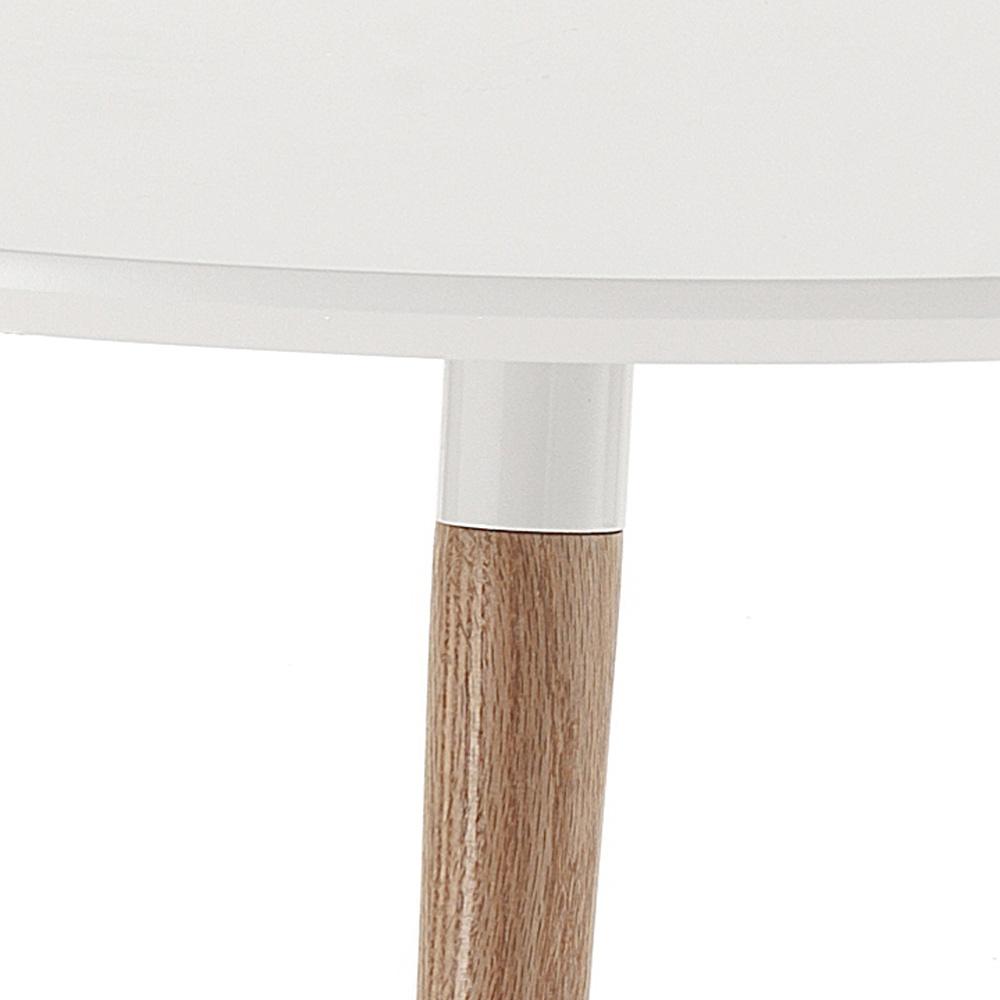 Extendable wooden dining table with white top Ian : tavolo allungabile in legno piano bianco opaco ian 2 from www.viadurini.co.uk size 1000 x 1000 jpeg 97kB