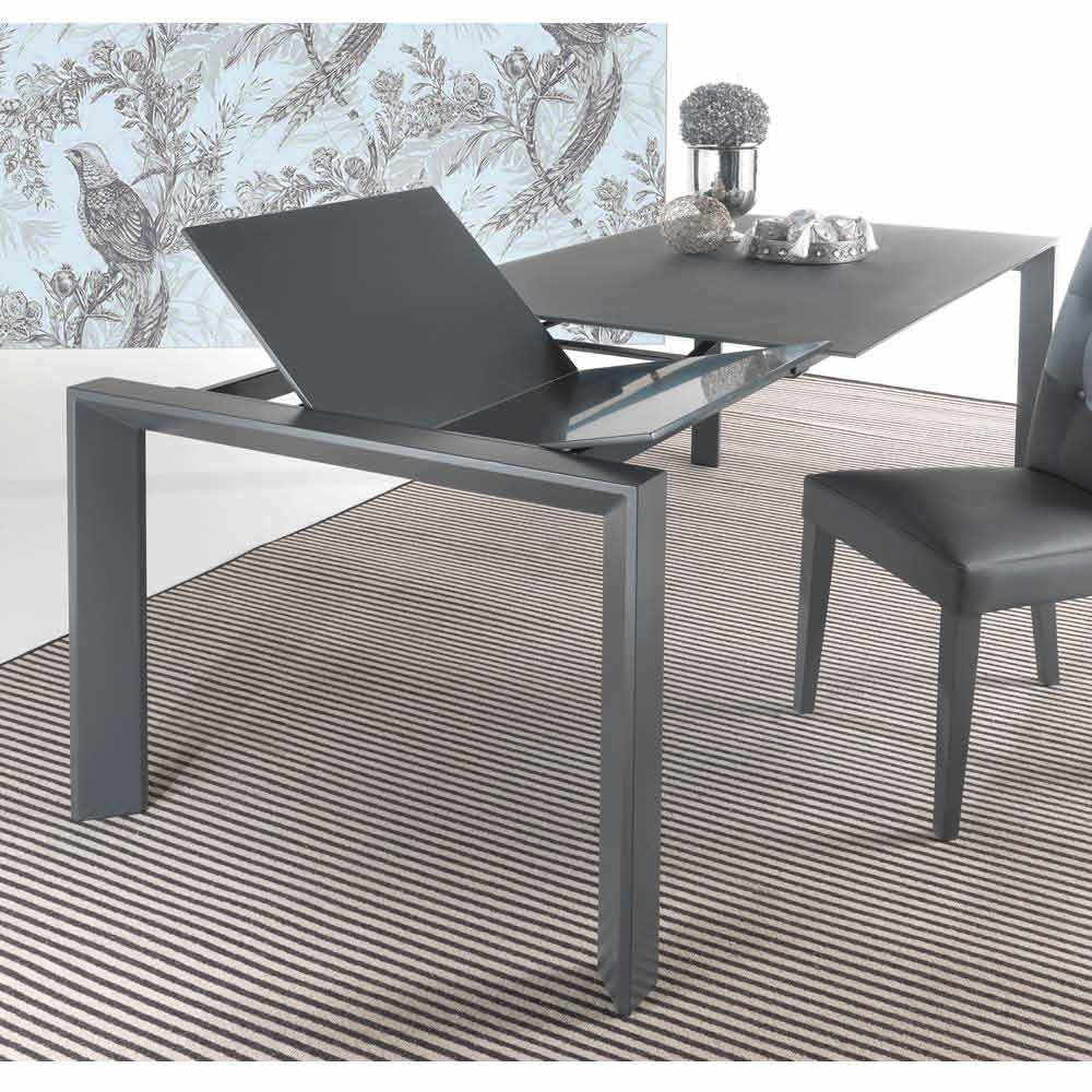 Extensible Tempered Glass Table With Mono Extends To Phoenix Book