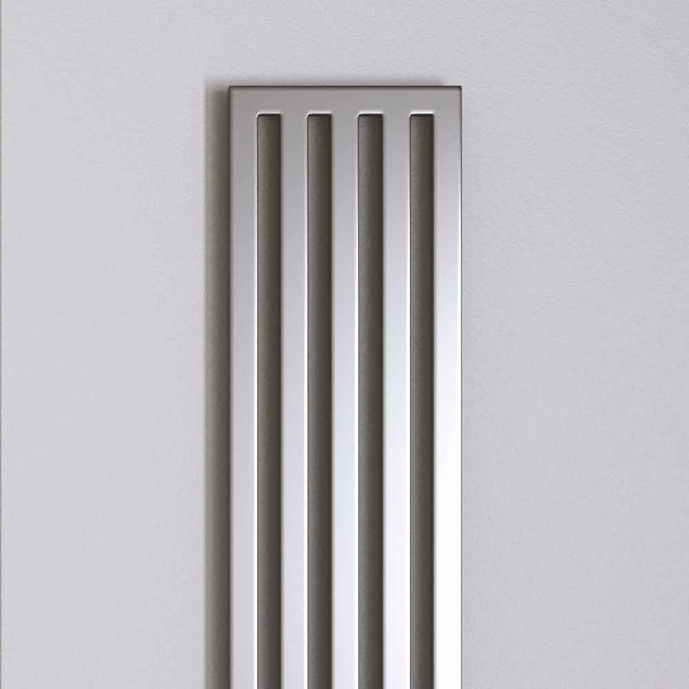 Modern Chrome Electric Radiator New Dress By Scirocco H