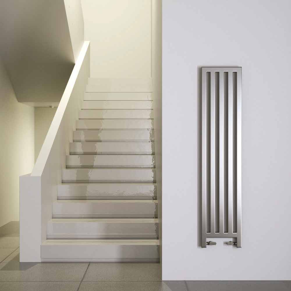 Modern vertical hot water radiator new dress made in italy - Termoarredo cucina ...