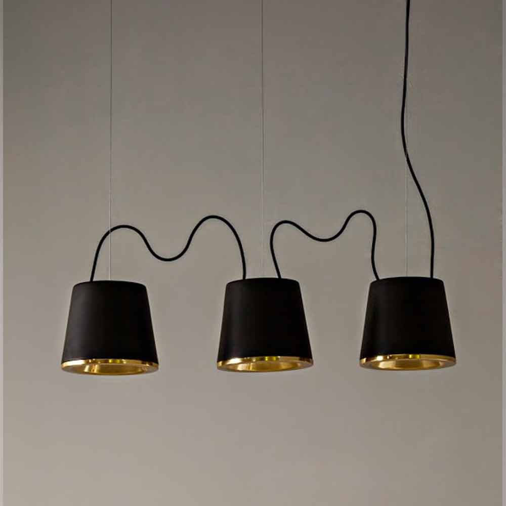 tuscany lighting. Toscot Henry Suspended Lamp Ø37cm Made In Tuscany Lighting