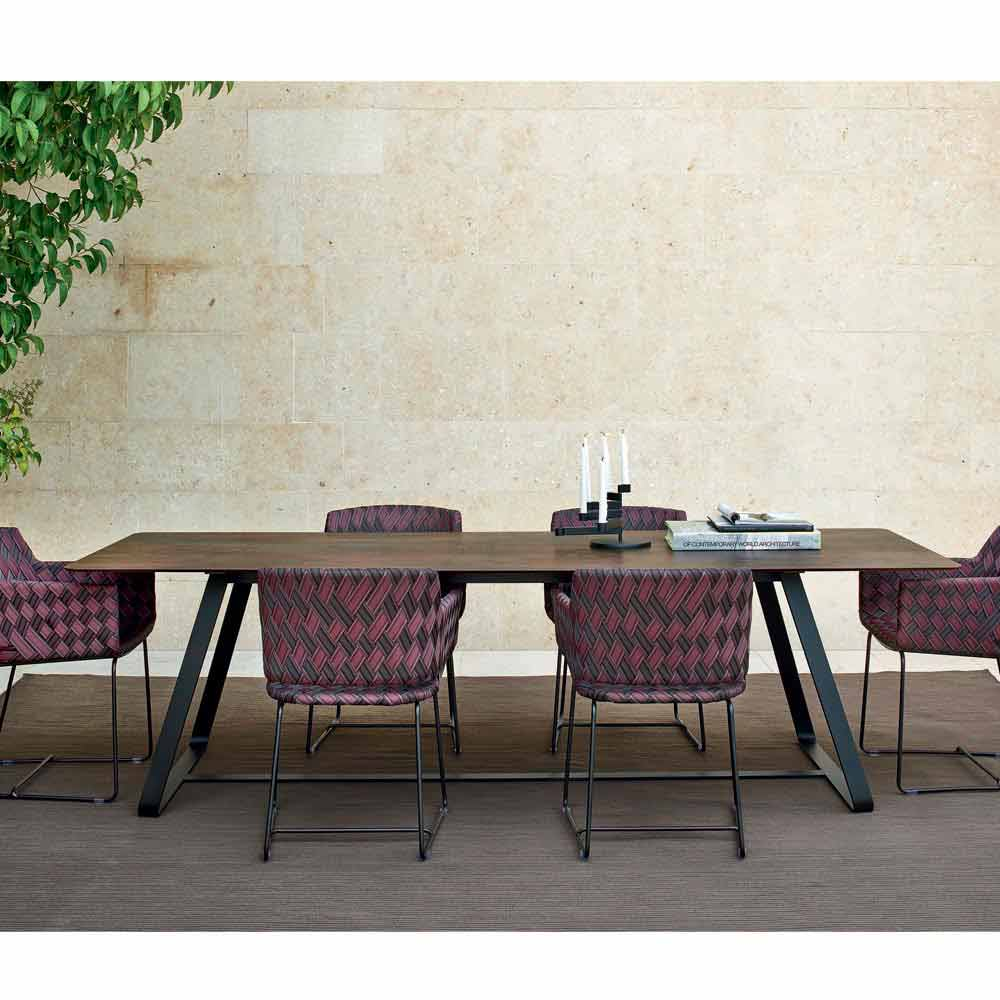 Varaschin Kolonaki modern outdoor dining tablemany measures available
