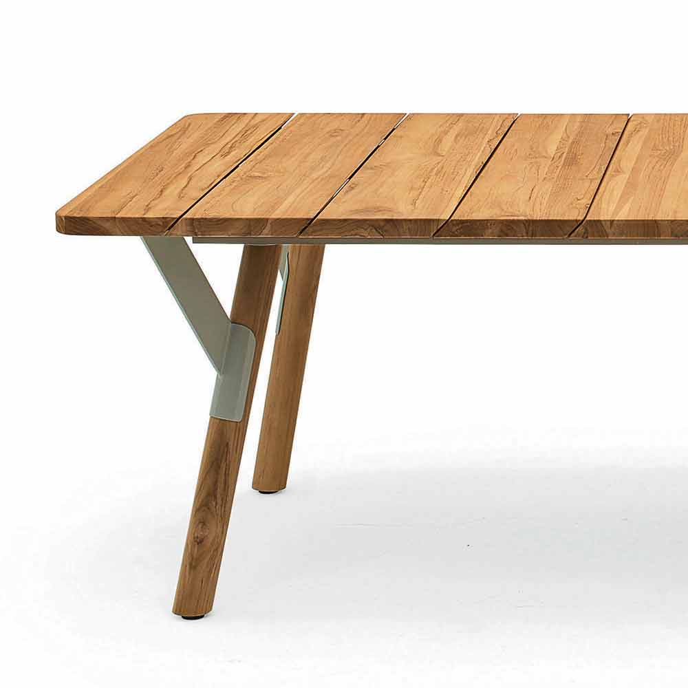 Extending Console Dining Table Images Kitchen Tables  : varaschin link tavolo da pranzo da giardino in legno di teak h 75 cm 7 from favefaves.com size 1000 x 1000 jpeg 384kB