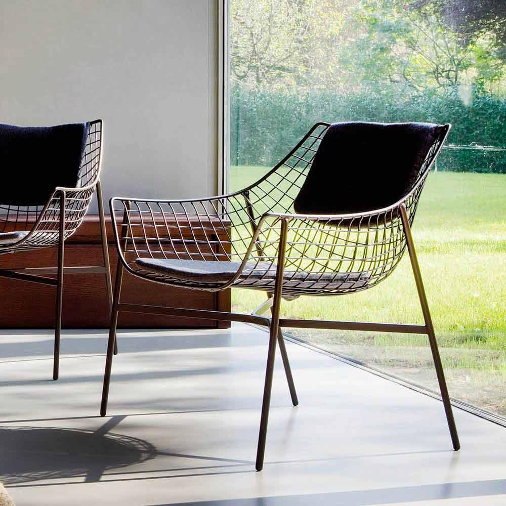 terrific varaschin summer set lounge chair white   Modern design garden armchair, Summer set by Varaschin