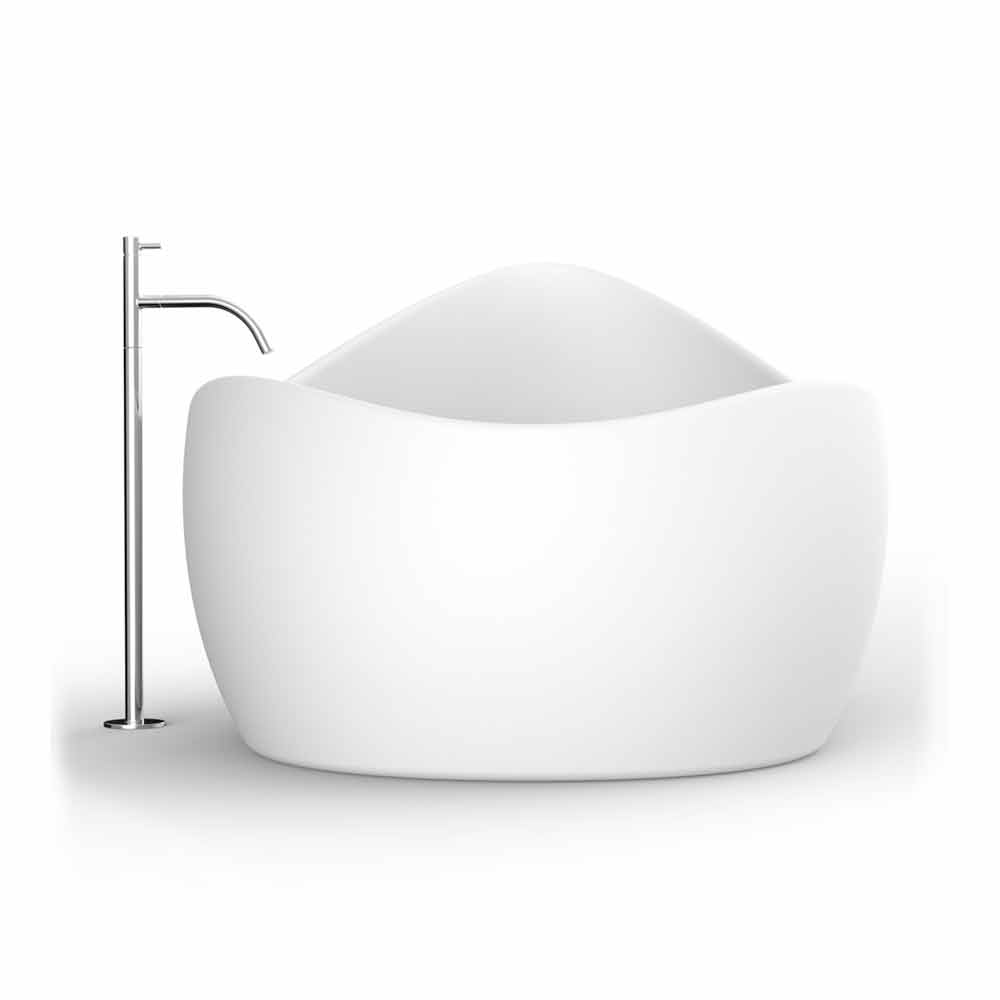 Modern design adamantx bathtub finger food made in italy for Viadurini bagno