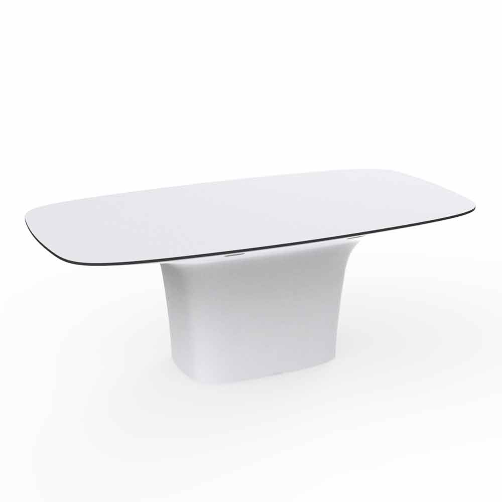 Vondom ufo outdoor dining table modern design 200x100 cm for Table 200x100