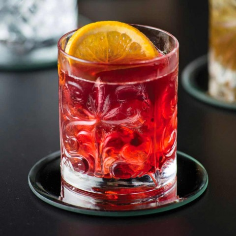 12 Double Old Fashioned Tumbler Glasses in Luxury Eco Crystal - Destino