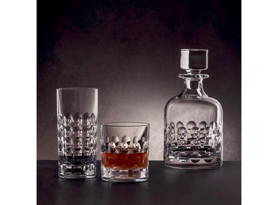 12 Highball Glasses for Soft Drinks or Long Drinks in Eco Crystal - Titanioball