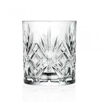 12 Vintage Design Tumbler Glasses in Eco Superior Sonorous Glass - Cantabile
