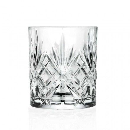 12 Vintage Design Tumbler Glasses in Eco Superior Sonorous Glass - Cantabile