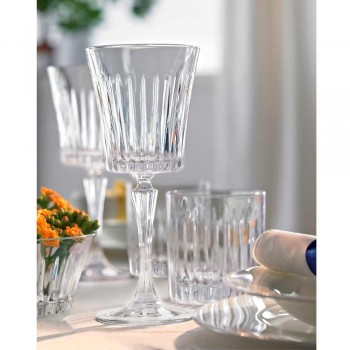 12 Luxury Ecological Crystal Water Cocktail Wine Glasses - Senzatempo