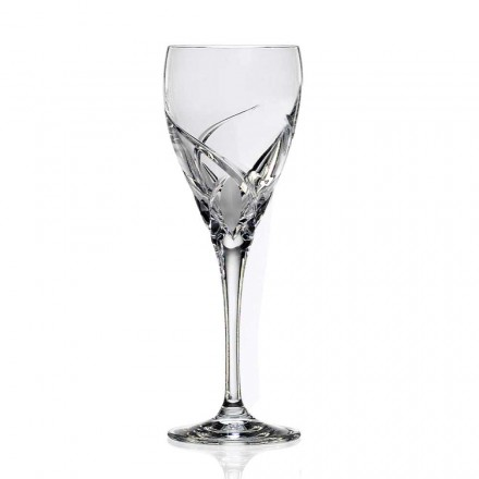 12 Luxury Design Wine Tasting Glasses in Eco Crystal - Montecristo
