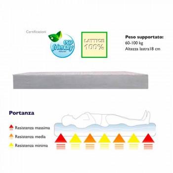 A mattress and a Half Square 7 Zone 100% Latex PureLatex