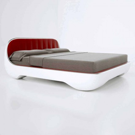 Modern design luxury double bed Avantgarde , made in Italy