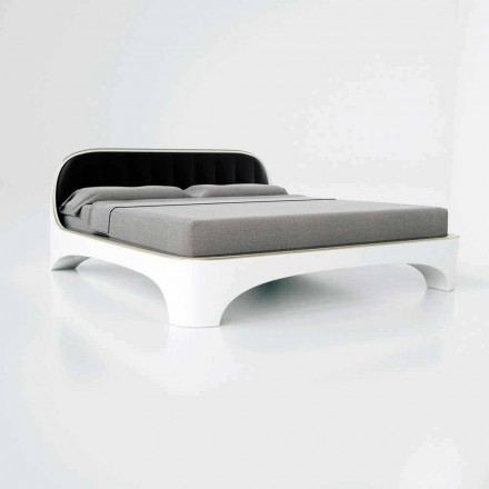 Modern design luxury double bed Elegance , made in Italy