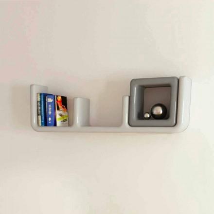 Designer wall shelf Atlante Viadurini Design Made in Italy