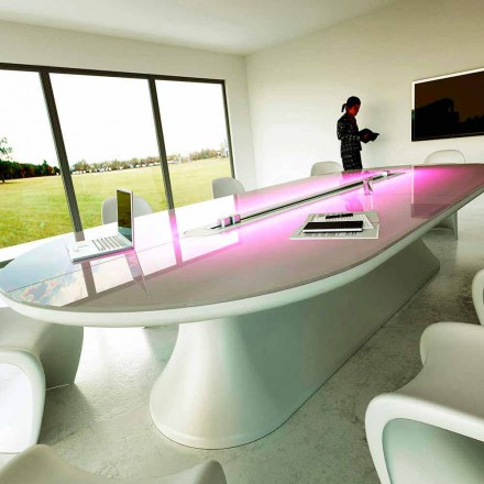 Contemporary design conference table Info Table, Italian design