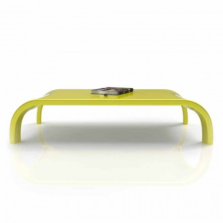 Modern design living room coffee table Downhill, made in Italy