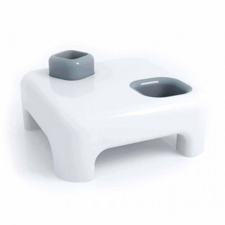 Contemporary design Solid Surface coffee table Prometeo, made in Italy