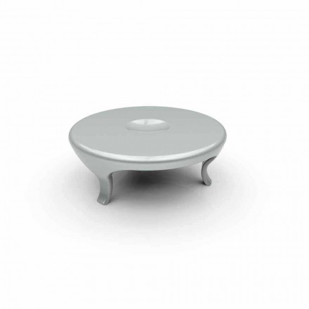 Modern design living room coffee table Round, made in Italy