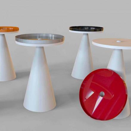 Modern design living room coffee table Spot, handmade in Italy