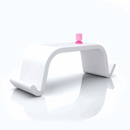 Modern design Solid Surface office desk Acton in white, gold or black
