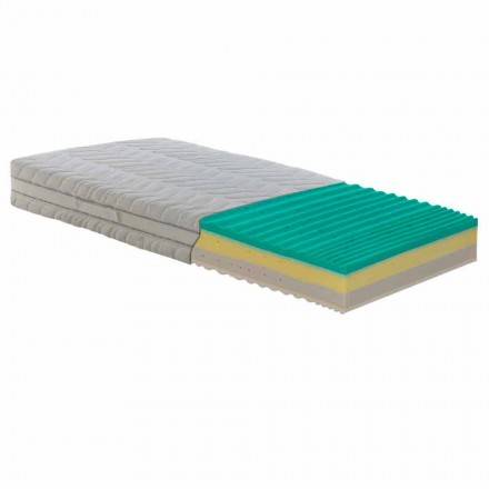 Mattress 1 Half Square and pocket sprung Bio Up Memory