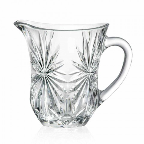 2 Design Water Jugs with Ultraclear Superior Sound Glass Decoration - Daniele